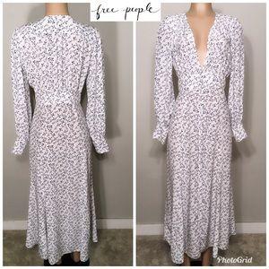 Free People bluebird maxi dress. New